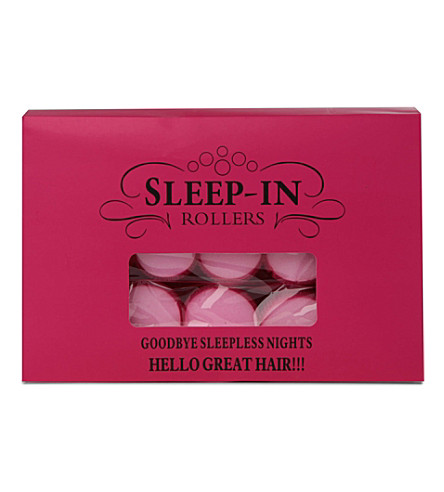 SLEEP IN ROLLERS Mega Bounce gift set