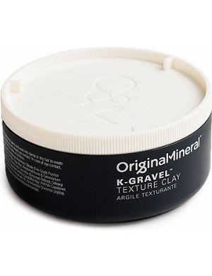 ORIGINAL MINERAL K-Gravel texture clay 100g