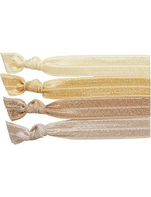 RIBBAND Blonde hair ties