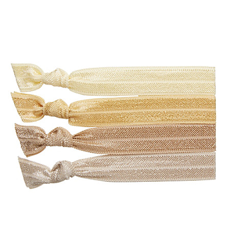 RIBBAND Blonde hair ties