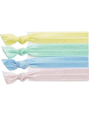 RIBBAND Pastel hair ties