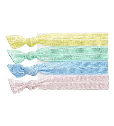 RIBBAND Pastel hair ties