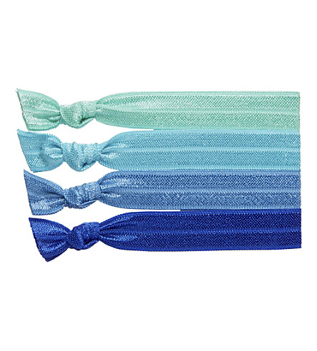 RIBBAND Aqua hair ties (Aquas
