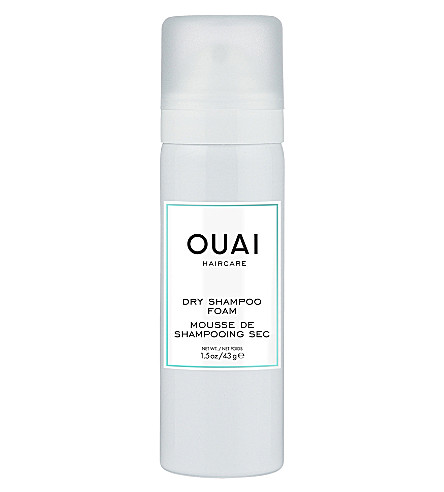 OUAI Dry shampoo foam travel