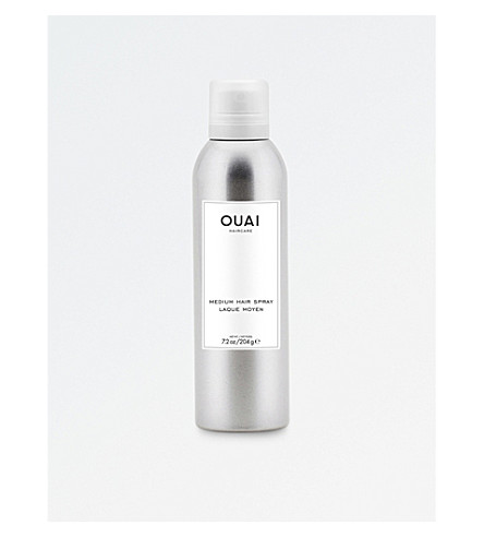 OUAI Medium hair spray 240g