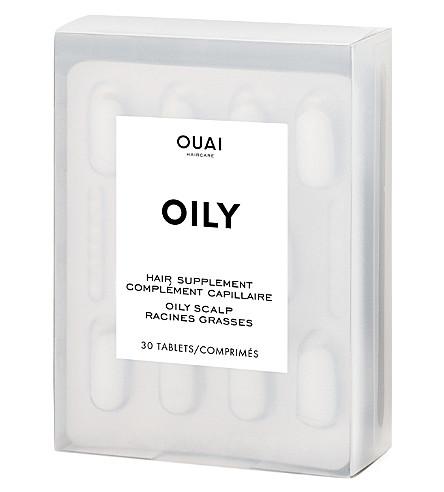 OUAI 油性毛发补充剂 30 胶囊