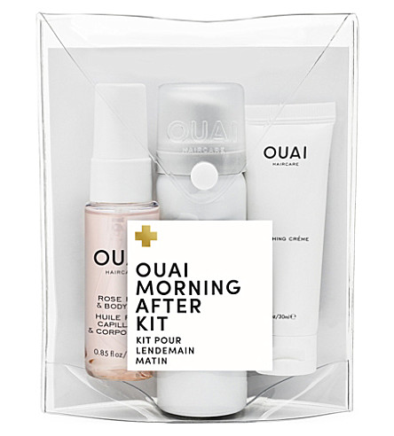 OUAI Morning After Kit