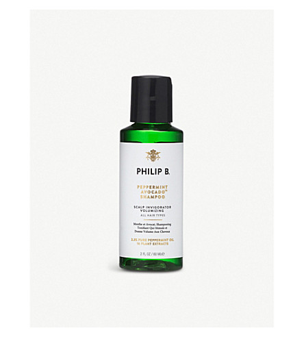 PHILIP B Peppermint and Avocado shampoo 60ml