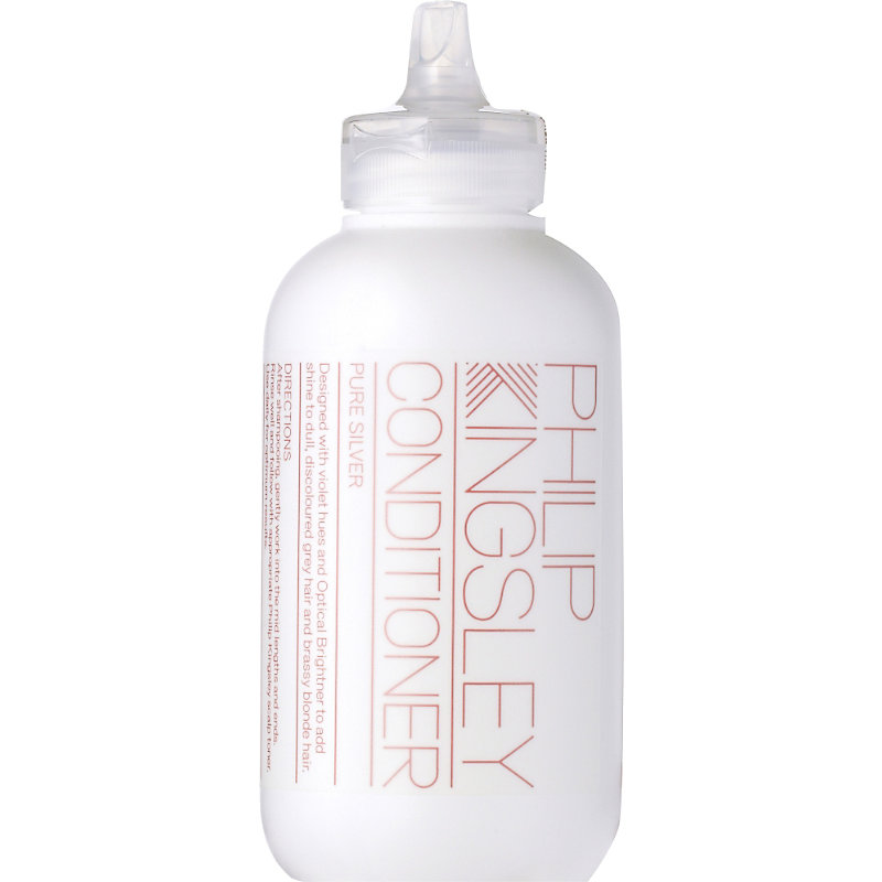 PHILIP KINGSLEY | Philip Kingsley Pure Silver Conditioner, Size: 250ml, Silver | Goxip