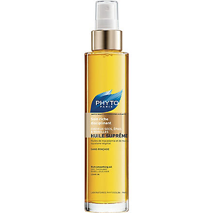 PHYTO Huile Supreme rich smoothing oil 100ml