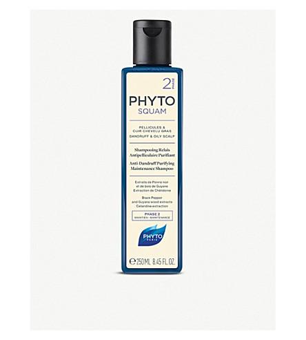 PHYTO 易油性抗头皮屑洗发水的毛发