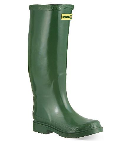 HAVIANAS Rain boots (Green/green