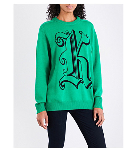 CHRISTOPHER KANE Kane wool jumper (Green