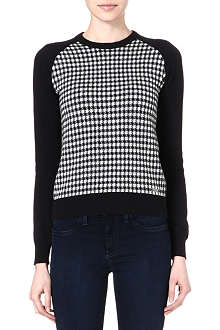 BARBOUR Northumberland checked jumper