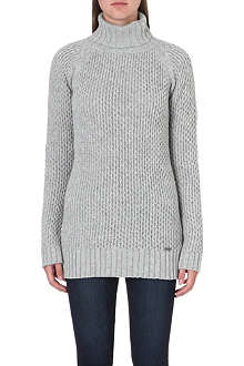 BARBOUR Knitted wool jumper