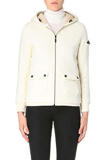 BARBOUR Quilted sweat jacket