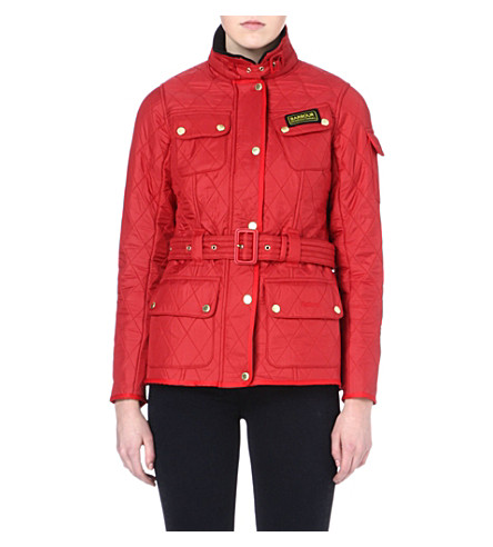 BARBOUR International Polarquilt jacket (Red