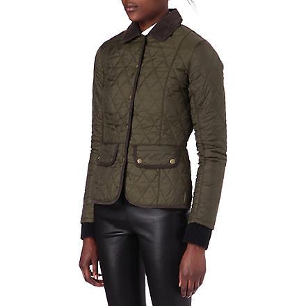 BARBOUR Vintage quilted jacket (Olive