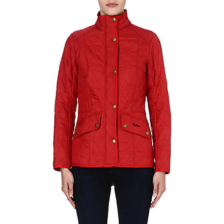 BARBOUR Cavalry Polarquilt jacket (Red