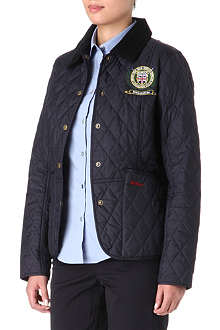 BARBOUR Summer Liddesdale Polo Club jacket