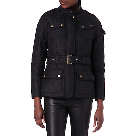 BARBOUR International Polarquilt jacket (Black