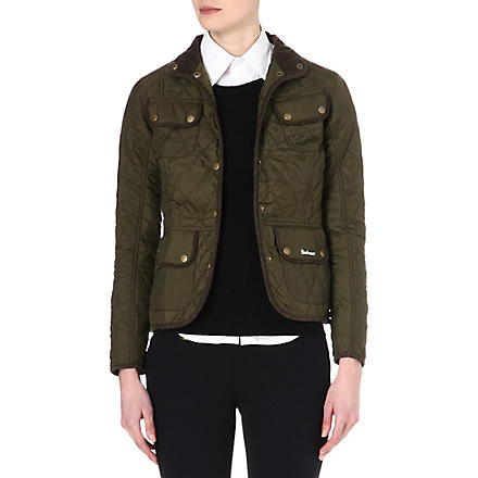 BARBOUR Spectrum Pantone quilted jacket (Olive