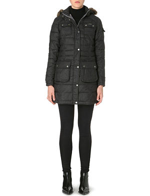 BARBOUR Oakwheel quilted parka