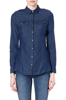 BARBOUR Gosfield denim shirt