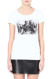BARBOUR Coanwood Girls on Tour t-shirt