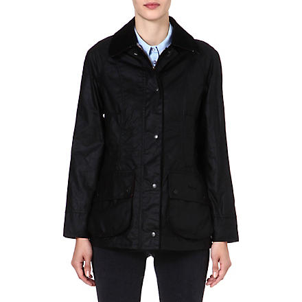 BARBOUR Beadnell waxed jacket (Black