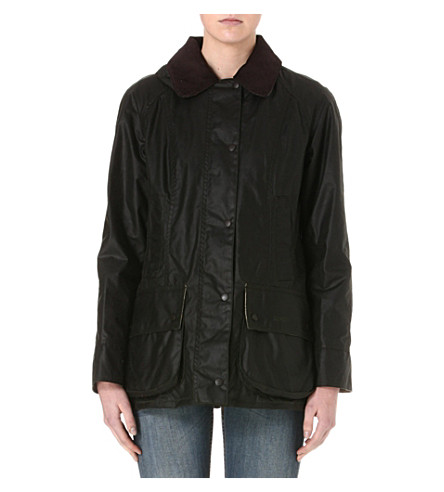 BARBOUR Beadnell waxed jacket (Sage