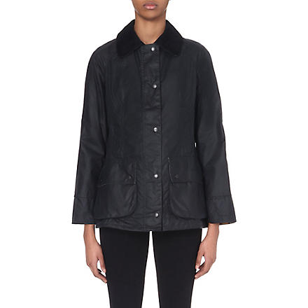 BARBOUR Classic Beadnell waxed jacket (Navy