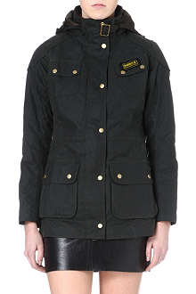 BARBOUR Hawkstone waxed parka jacket