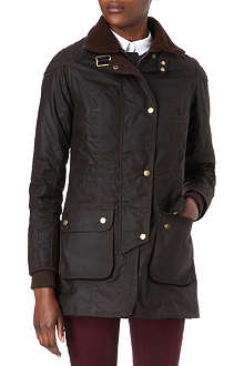 BARBOUR Motorcycle waxed jacket