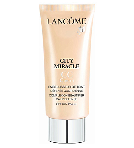 LANCOME City Miracle CC cream (Apricot