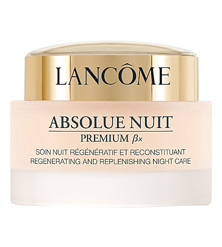 LANCOME Absolue Premium ßx Night Care Advanced Radiance Regenerating and Replenishing night cream