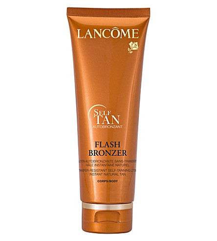 LANCOME Flash Bronzer self-tanning body gel 125ml
