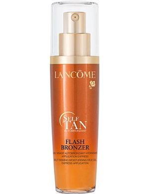 LANCOME Flash Bronzer self-tanning moisturising face gel 50ml