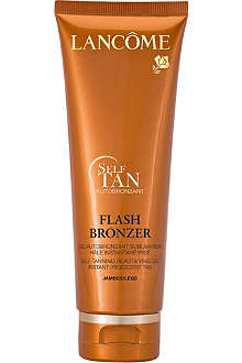 LANCOME Flash Bronzer self-tanning leg gel 125ml