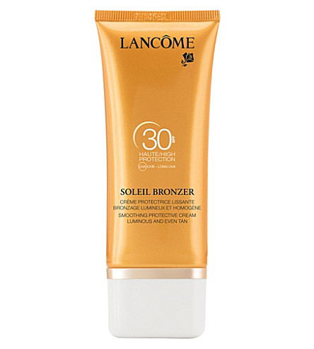 LANCOME Soleil Bronzer smoothing protective cream SPF 30 30ml