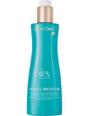 LANCOME Soleil Bronzer hydrating beautifying after-sun milk 200ml