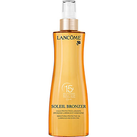 LANCOME Soleil Bronzer smoothing protective oil SPF 15 200ml
