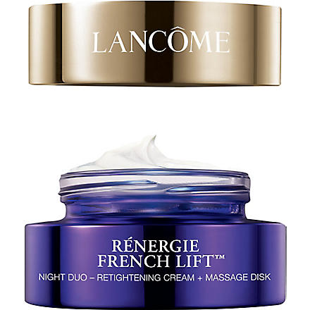 LANCOME Renergie French Lift™ Night Duo - Retightening Cream & Massage Disk