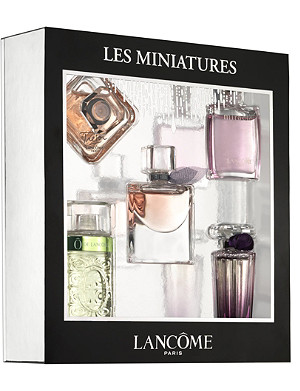 LANCOME Les Miniatures mini luxury fragrance gift set