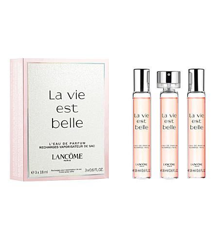 LANCOME La Vie est Belle eau de parfum trio