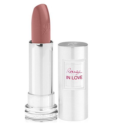 LANCOME Rouge in Love lipstick (Rose en deshabille