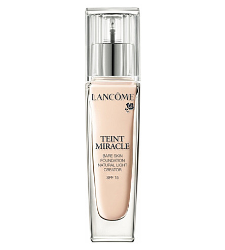 LANCOME Teint Miracle Bare Skin Perfection foundation SPF 15 (005