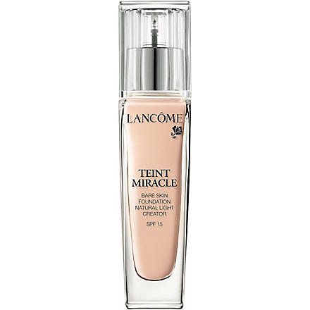 LANCOME Teint Miracle Bare Skin Perfection foundation SPF 15 (007