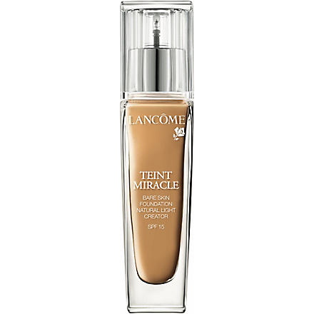 LANCOME Teint Miracle Bare Skin Perfection foundation SPF 15 (010