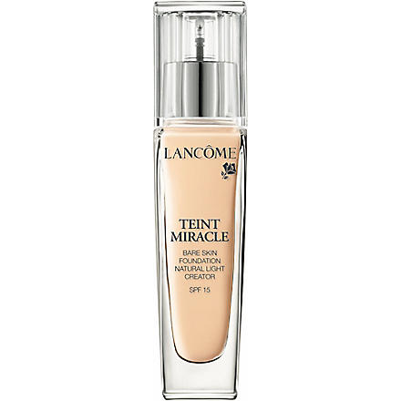 LANCOME Teint Miracle Bare Skin Perfection foundation SPF 15 (01